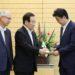 安倍総理は与党東日本大震災復興加速化本部による第8次提言を受け取りました
